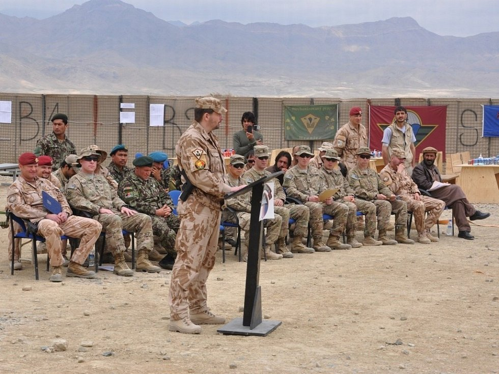 Hraničtí vojáci v Afghánistánu. Ilustrační foto