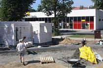 Stavba dopravního hřiště v Hranicích
