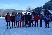 Zimní příprava hranických kanoistů