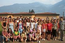 Děti si zazpívaly v severní Itálii.