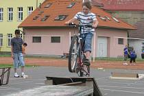Sportovní klání vesnických škol zahájilo v pátek 13. června program letošního ročníku Bělotínských pivních slavností.