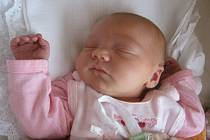 Zuzanka Bittnerová, Dřevohostice narozena dne 12. března 2014 v Přerově, míra: 49 cm, váha: 3 516 g