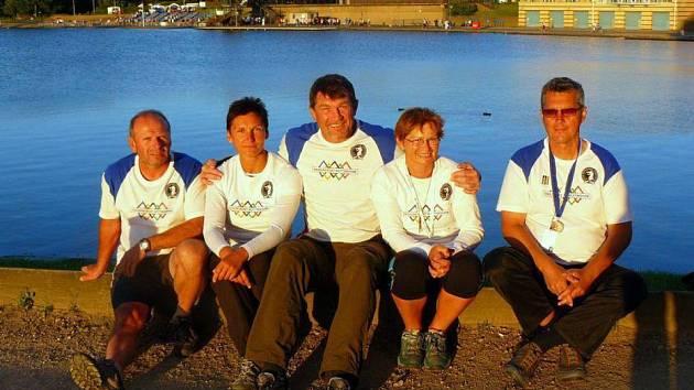 Hranická posádka vyrazila na mistrovství do Anglie