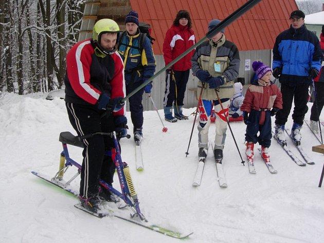 Minulý rok se v Kladkách souvisleji lyžovalo až po vánocích.