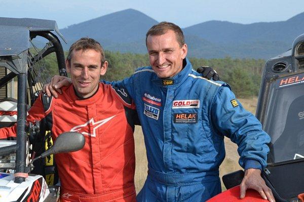 Dušan Randýsek se chystá na svůj první Dakar na bugině Arctic Wild Cat.