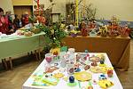 Velikonoční výstava v kulturním domě ve Všechovicích