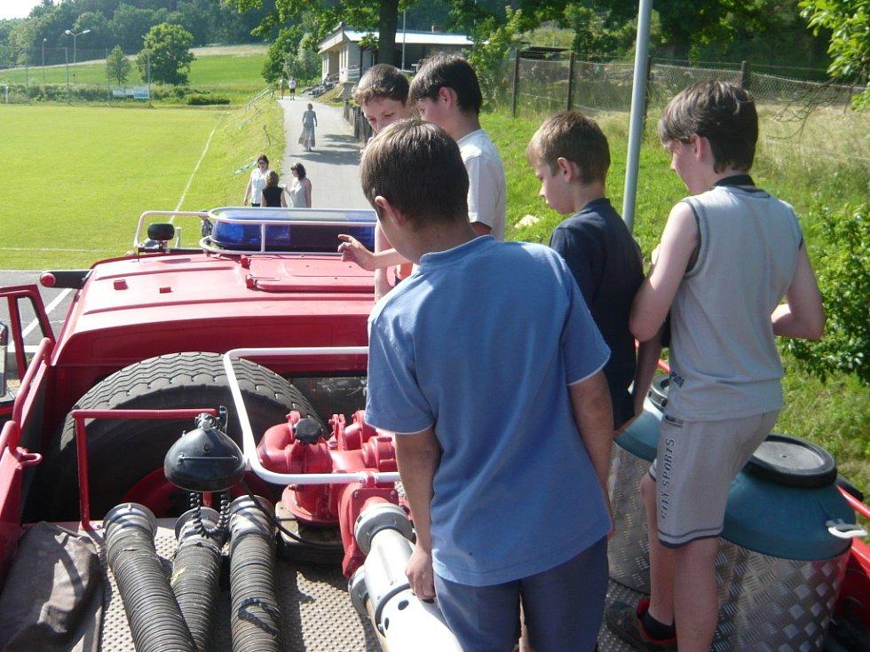 Spoustu her a soutěží si děti užívaly na Den dětí v Opatovicích.