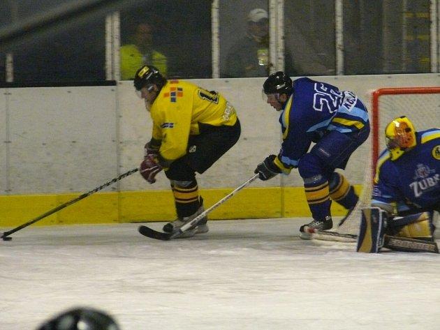 Přerov před svými fanoušky zdolal i Kroměříž a v čele druhé hokejové ligy má již sedmibodový náskok.