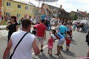 V Drahotuších se o víkendu konala tradiční Anenská pouť.