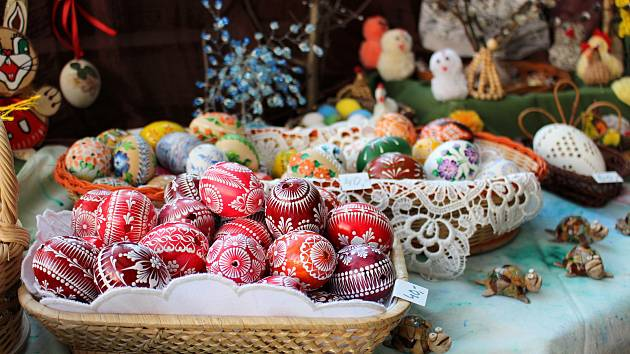 Výstava Velikonočních tradic v Galerii M+M  na jaře 2020