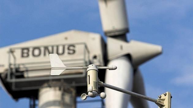 Kopcovité oblasti Přerovska jsou pro větrné elektrárny výhodné.