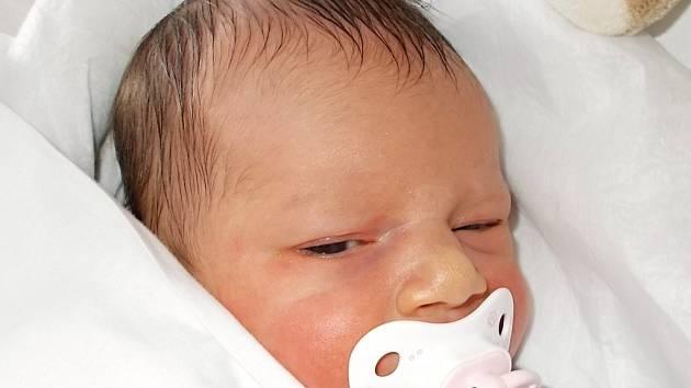 Eliška Vybíralová, Pavlovice u Přerova, narozena dne 22. září 2015 v Přerově, míra: 51 cm, váha: 3722 g