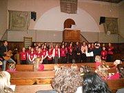 Hranický dětský pěvecký sbor vystoupí na adventním koncertě v Evangelickém kostele v pátek 1. prosince.