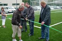 Hřiště za osmnáct milionů je nejlepším fotbalovým hřištěm s umělým povrchem v celé České republice.