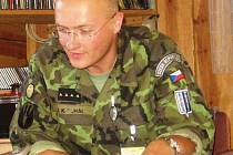 Vojenský kaplan Jaroslav Knichal není žádný nováček. Na zahraničních misích byl už dvakrát.