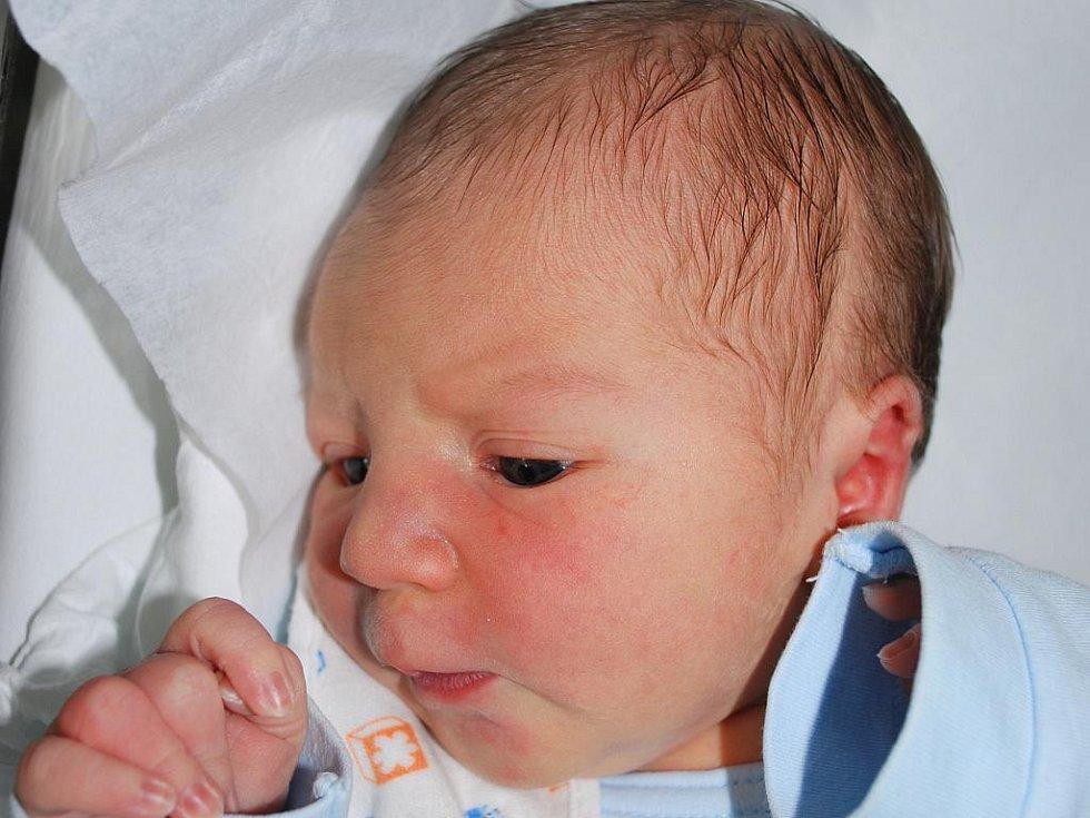 Jakub Měšťánek, Bochoř, narozen 30. listopadu v Přerově, míra 51 cm, váha 3 580 g