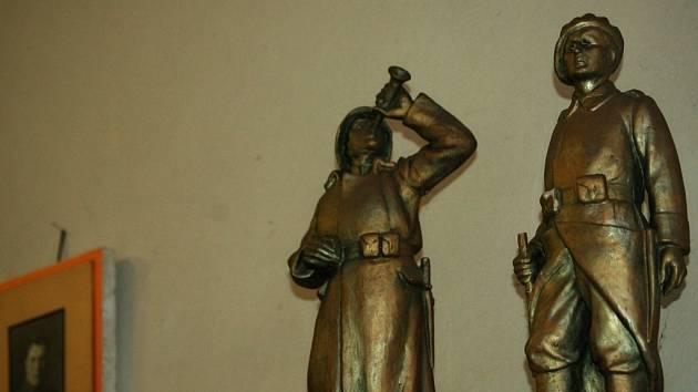 Síň odboje v kasárnách generála Zahálky