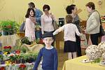 Jarní výstava ve Všechovicích inspirovala velikonoční výzdobou