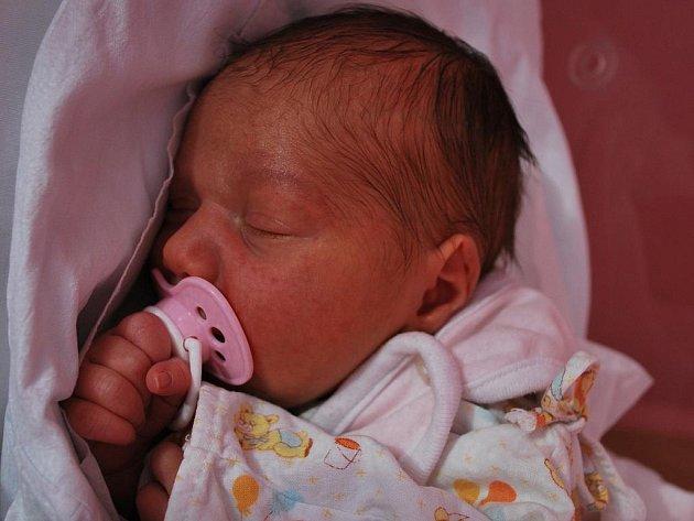 Natálie Vylíčilová, Kozlovice, narozena 30. listopadu v Přerově, míra 52 cm, váha 3 710 g