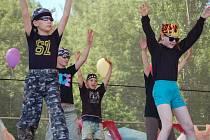 V přerovském parku Michalov děti vítaly léto.