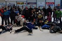 Milotičtí hokejisté si zahráli s Valašským Meziříčím.