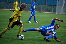 Starší i mladší dorostenci 1. FC Přerov prohráli v Uničově. Iustrační foto: David Klein