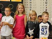 Na Základní škole Struhlovsko v Hranicích přivítali prvňáky.