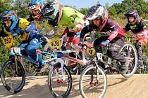 Hranický BMX Dracing Team v roce 2021.