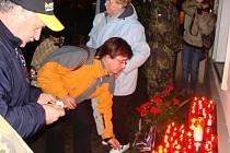 20. výročí sametové revoluce na přerovském náměstí T.G. Masaryka