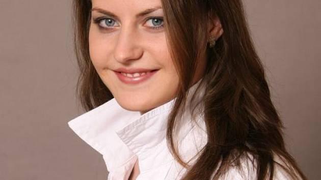 1. Eva Mlnaříková, Hranice. Věk: 20 let. Znamení: Beran. Záliby: tanec, sport, cestování, fotografování