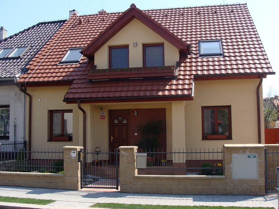 """Absolutní prvenství v kategorii """"novostavba"""" získal rodinný dům v ulici Čsl. letců."""