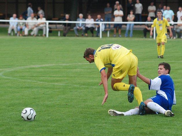 Béčko Jihlavy lipovští fotbalisté doma zdolali, proti Znojmu se jim to o uplynulém víkendu nepovedlo.