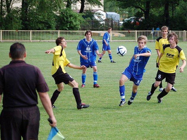 Starší dorost doma prohrál se Spartou Brno 0:2 a zkomplikoval si záchranu.