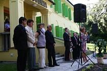 Lázně slavnostně otevřeli zrekonstruovanou Slovenku.