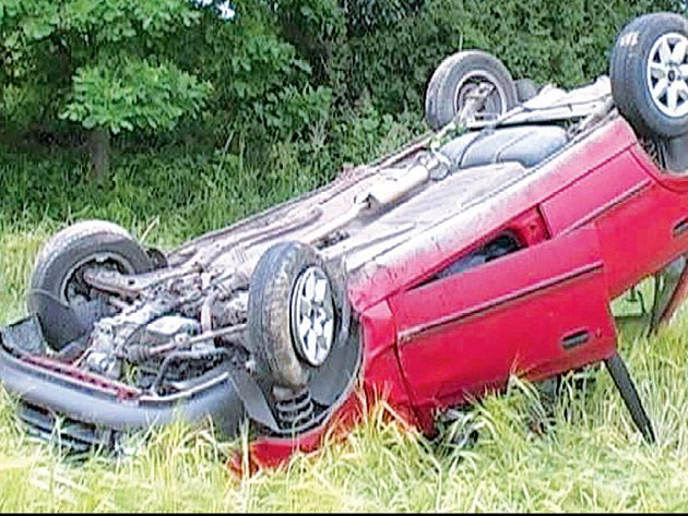 Nehoda se naštěstí obešla bez vážnějších zranění.