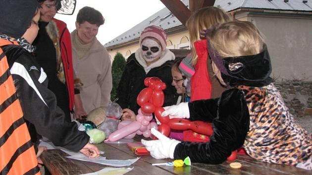 Halloweenská zábava v Opatovicích