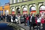 Prezident Klaus a česká delegace na cestě do Krakova v Bohumíně