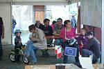 Akci Hranicko žije v centru Hranic navštívily stovky lidí. Spokojenost vládla také s počasím