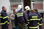 Mohutným výbuchem se ve čtvrtek 15. října odpoledne otřásl dům v Zahradní ulici v Prosenicích u Přerova. Ve sklepě domu expolodoval kotel na tuhá paliva, který napáchal značné škody a lehce zranil dvě ženy.