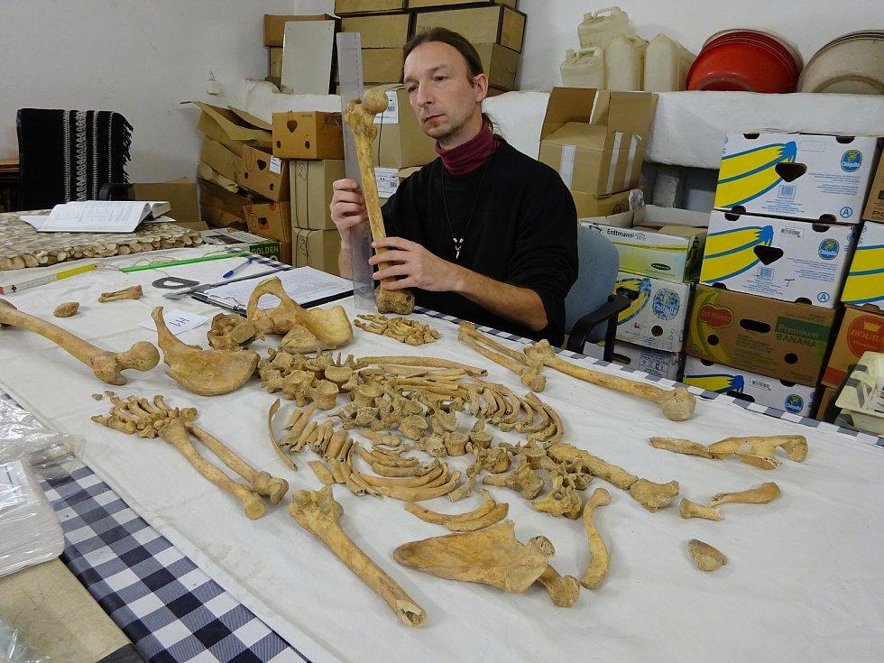 Milovník historie, badatel, autor mnoha odborných článků a publikací, hudebník a básník, ale především antropolog, to je Roman Bortel z Hranic.