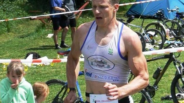 Hraničtí triatleti rozšířili své řady o několik ambiciózních borců. Jedním z nich je i Lukáš Krpec.