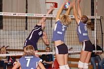 Přerovské volejbalistky prohrály první domácí utkání s Olympem 1:3.
