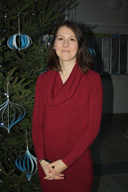 Petra Šeinerová, sbormistryně Hranického dětského pěveckého sboru.