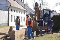 Obec Radslavice pokračuje s modernizací kanalizace a se stavbou čistírny odpadních vod.