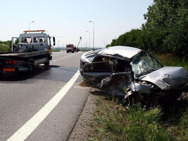 Křižovatka u Lipníku má na svém kontě už celou řadu dopravních nehod.