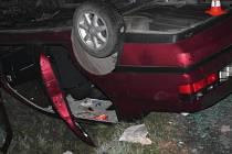 Dopravní nehoda si vyžádala tři těžká zranění.