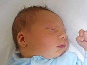 Richard Vojtek, Dluhonice, narozený dne 3. září 2016 v Přerově, míra 49 cm, váha 3140 g