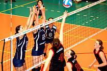 Volejbalistky Prechezy vyhrály třetí utkání v sezoně a na osmý Liberec ztrácejí jediný bod.