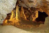 Zbrašovské aragonitové jeskyně. Ilustrační foto