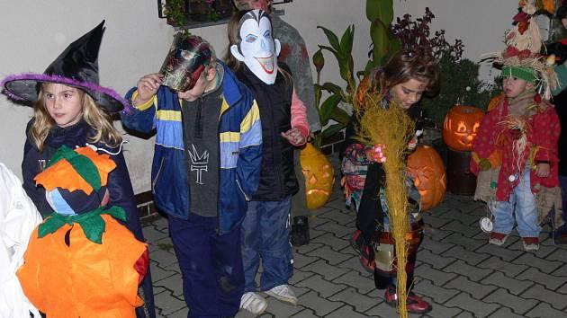 V Drahotuších slavili Halloween.